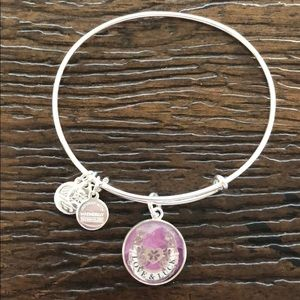 Alex and ani love and luck bracelet